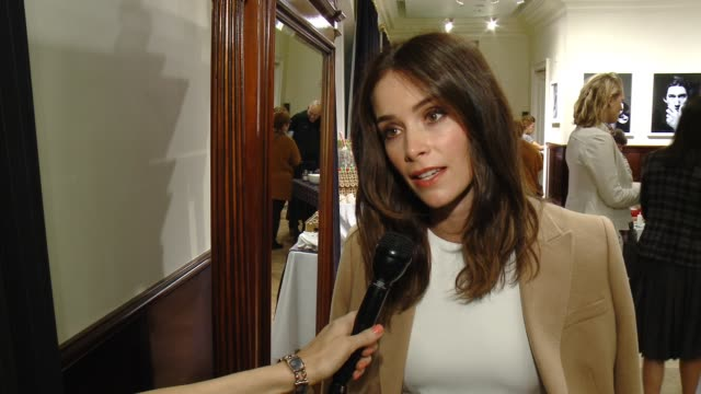 INTERVIEW Abigail Spencer on St Jude's the Brooks Brothers event at BROOKS BROTHERS Celebrates The Holidays with St Jude Children's Research Hospital...