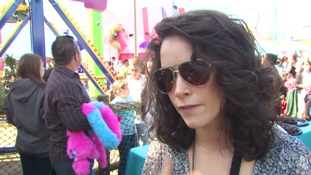 Abigail Spencer on why she wanted to be a part of the afternoon what she appreciates about the Make A Wish Foundation why giving back is important to...
