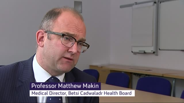 ablett psychiatric unit accused of treating patients like animals int professor matthew makin interview sot - 被告人点の映像素材/bロール