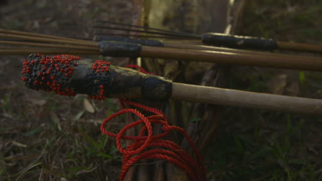aboriginal fishing gears, qld island - tradition stock videos & royalty-free footage