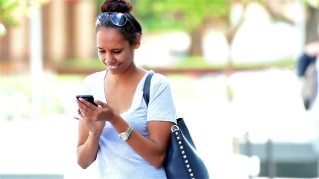 aboriginal student using phone - australian aboriginal culture stock videos and b-roll footage