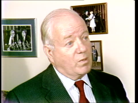 london sir anthony alment interview sof quoti think doctors has to be changedquot eng sony itn 52secs tx archive tape 14010 - abortion stock videos and b-roll footage