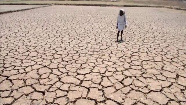 about 330 million people are suffering from drought in india as the country reels from severe water shortages and desperately poor farmers suffer... - clean stock videos & royalty-free footage