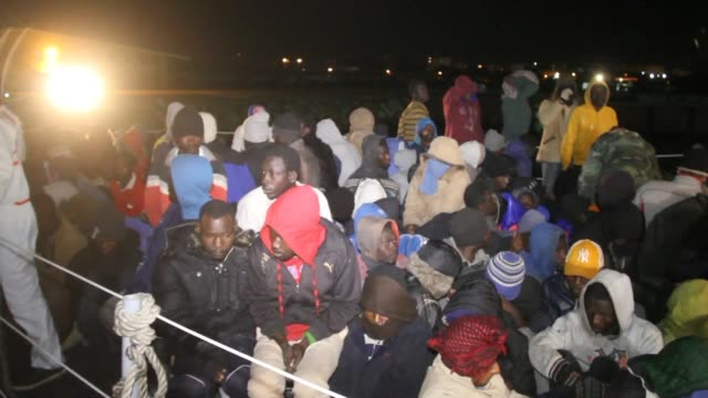About 360 African and Arab migrants were rescued Monday night off the coast of Tripoli according to the Libyan coast guard
