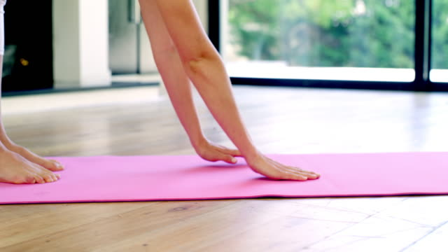 above all, practice yoga - pilates stock videos & royalty-free footage