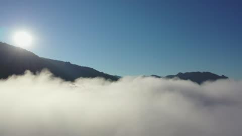 雲の上 空中写真 - 内部点の映像素材/bロール