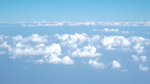 above the clouds from aircraft point of view. - aircraft point of view stock videos & royalty-free footage