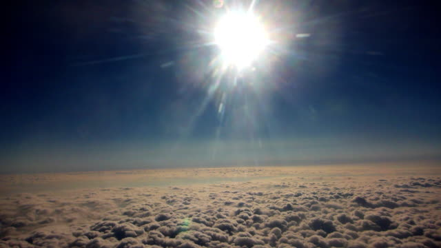 above the clouds - time lapse - going round in circles stock videos and b-roll footage