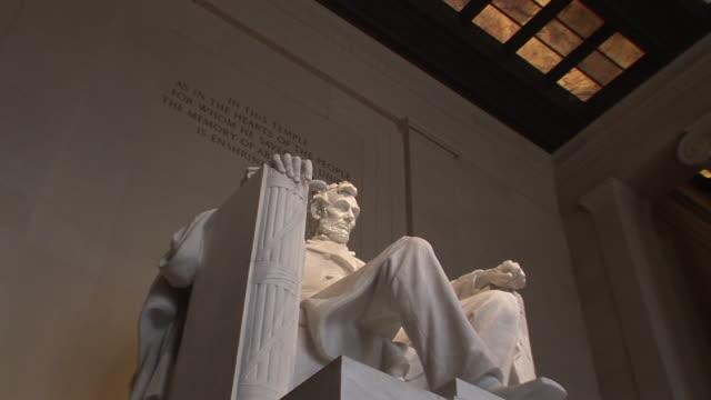 LA, MS, ZI, Abraham Lincoln statue, Lincoln Memorial, Washington DC, Washington, USA