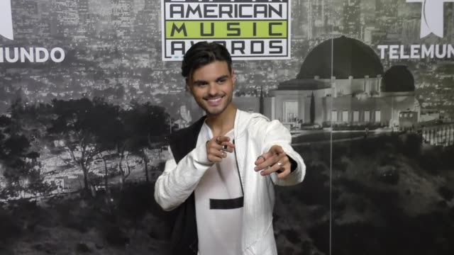 Abraham Mateo at the 2017 Latin American Music Awards on October 26 2017 in Hollywood California
