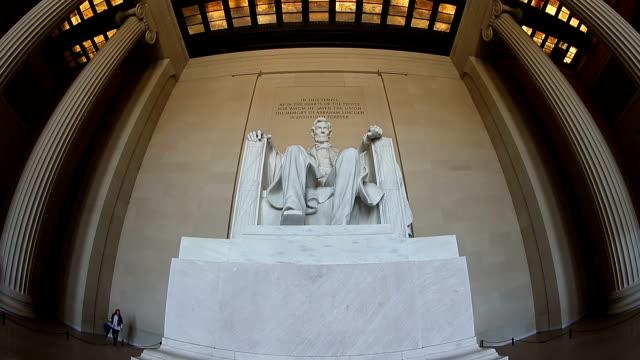 Abraham monument in Washington, DC