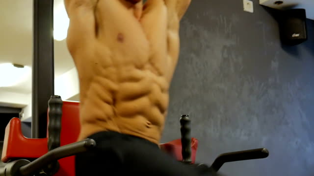 abs - abdominal muscle stock videos & royalty-free footage