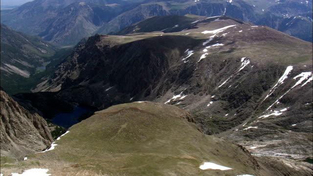 Absaroka Range  - Aerial View - Montana, Park County, United States