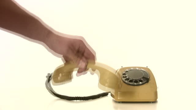 absence nobody on the phone - landline phone stock videos & royalty-free footage