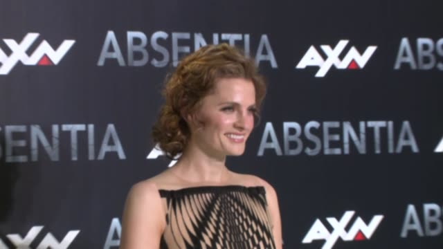 absentia madrid premiere - stana katic stock videos and b-roll footage