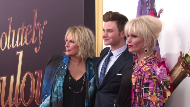 clean – absolutely fabulous the movie us premiere presented by fox searchlight at sva theatre on july 18 2016 in new york city - absolutely fabulous stock videos and b-roll footage