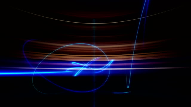 Absract striped glowing background