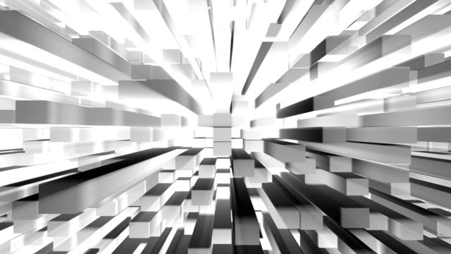 Abstract 3D cube blocks as modern blank city concept