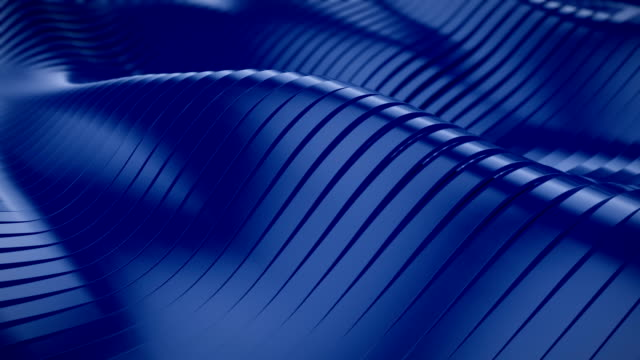 abstract 3d wavy lines - vibrant color stock videos & royalty-free footage