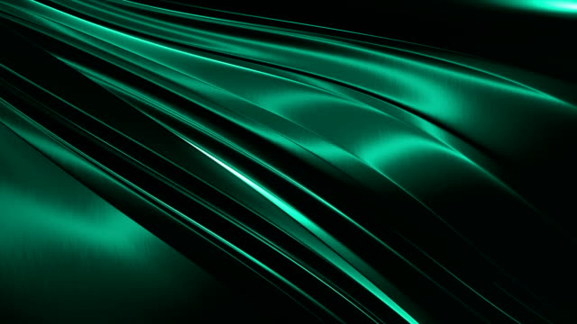 abstract 4k background seamless loop of steel curves and texture with reflection - aluminium stock videos & royalty-free footage