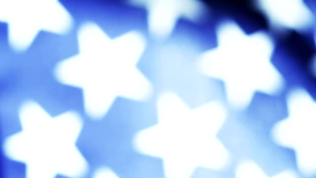 abstract american flag stars - stars and stripes stock videos & royalty-free footage