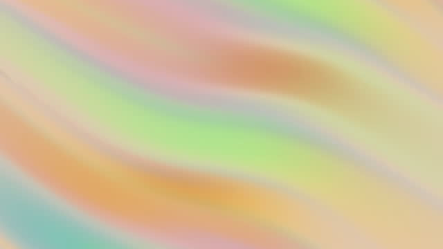 abstract animated colorful gradient wave background - colours stock videos & royalty-free footage