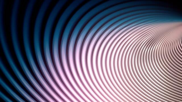 vídeos y material grabado en eventos de stock de abstracta fondo de animación con líneas onduladas de color. render 3d - doblado actividad física