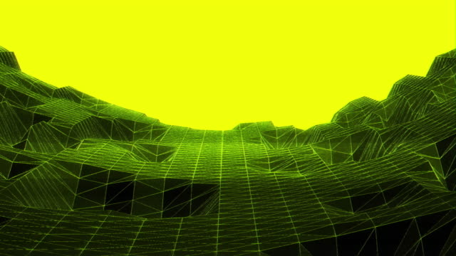 abstract animation future geometric shape with noise glitch video damage - glitch technique stock videos & royalty-free footage