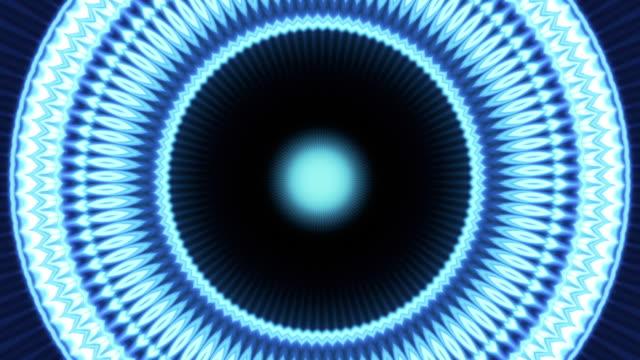 vídeos y material grabado en eventos de stock de 4k abstract animation of a futuristic tunnel - concéntrico