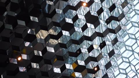 abstrakte architektur - architektur stock-videos und b-roll-filmmaterial