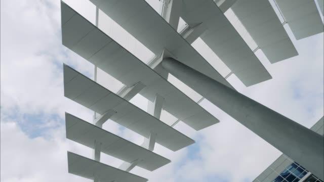 abstrakta arkitektur - fönsterrad bildbanksvideor och videomaterial från bakom kulisserna