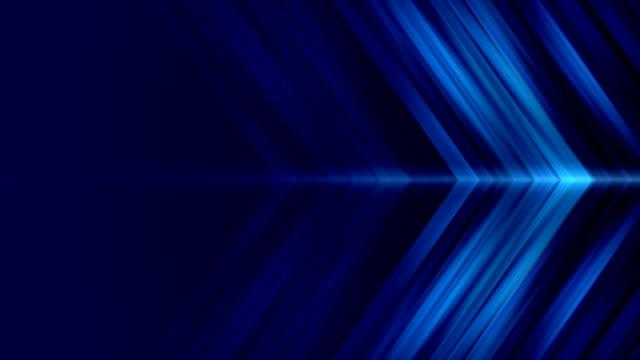 抽象箭頭形光背景無縫迴圈4k股票視頻 - arrow symbol 個影片檔及 b 捲影像