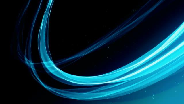抽象 bacgrounds ブルー(ループ - 滑らか点の映像素材/bロール