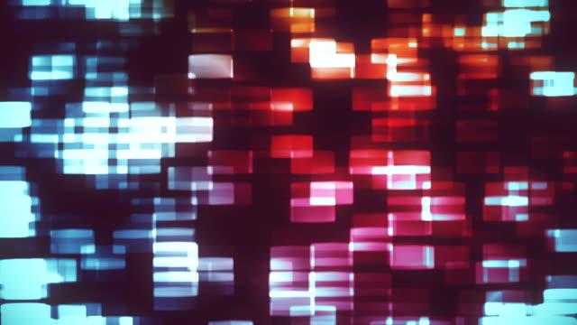 vídeos y material grabado en eventos de stock de fondo abstracto animación loopable - mosaico