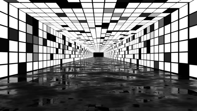 3d abstract background corridor - disco dancing stock videos & royalty-free footage