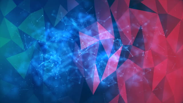 abstract background hexagons - smooth stock videos & royalty-free footage
