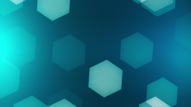 abstract background hexagons - hexagon stock videos and b-roll footage