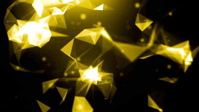 vidéos et rushes de 4k abstrait bouclables - yellow