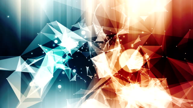 Abstract background multicolor shiny loop