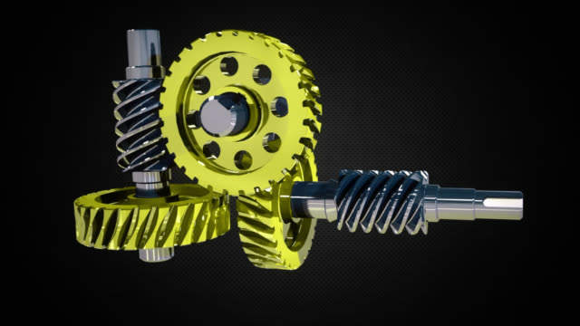 stockvideo's en b-roll-footage met abstract background of a machine gear - sprocket