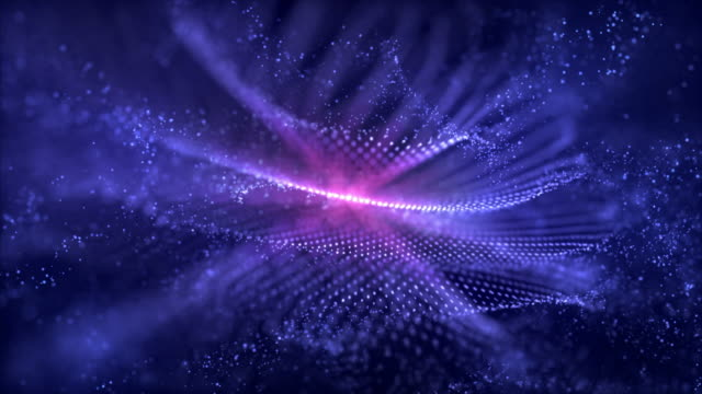 abstract background of blue and pink colors - big data stock videos & royalty-free footage