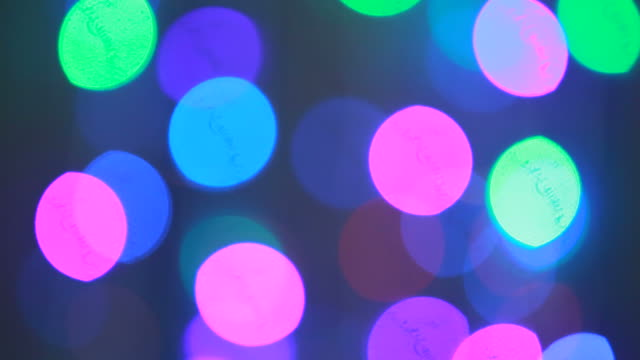abstract background of defocused lights - mirror ball stock videos & royalty-free footage