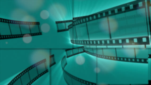 abstract background of films strips in motion - design element stock videos & royalty-free footage