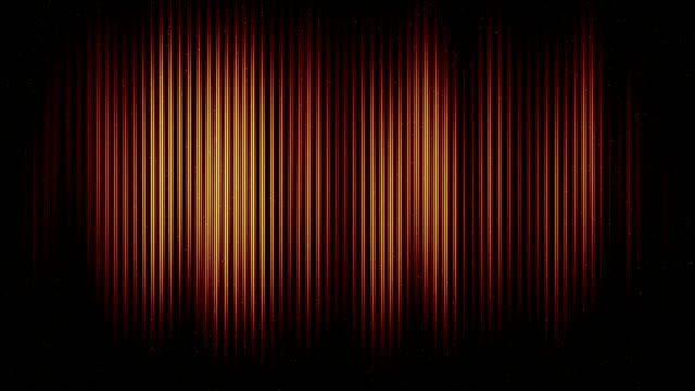 abstract background of golden color lines moving in space - smooth stock videos & royalty-free footage