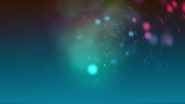 vídeos y material grabado en eventos de stock de abstract background of green and purple defocused lights - aumento digital