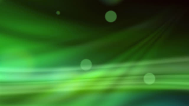 abstract background of green color lights - abstract stock videos & royalty-free footage