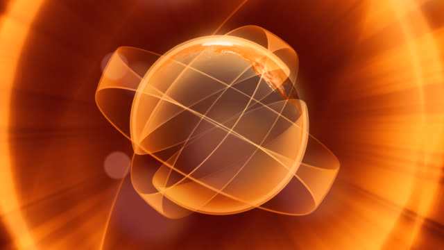 abstract background of planet earth globe turning - newsreel stock videos & royalty-free footage