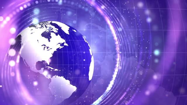 惑星地球の抽象的背景 - ジャーナリスト点の映像素材/bロール