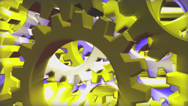 stockvideo's en b-roll-footage met abstract background of sprocket wheels - sprocket