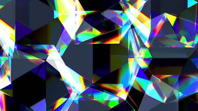 abstract background of transparent glass cubes standing in straight rows and rotating - cube stock videos & royalty-free footage